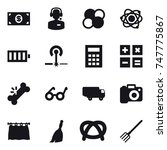 16 vector icon set   money ... | Shutterstock .eps vector #747775867