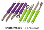 kitchen utensils. isolated | Shutterstock . vector #74783860