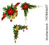 christmas elements for your... | Shutterstock .eps vector #747844657