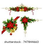 christmas elements for your... | Shutterstock .eps vector #747844663