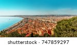 View Of The City Of Nice And...