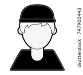 man faceless avatar | Shutterstock .eps vector #747902443