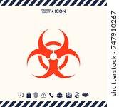 biological hazard | Shutterstock .eps vector #747910267