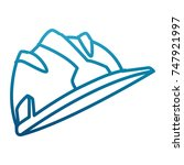 hardhat worker helmet | Shutterstock .eps vector #747921997