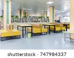 library reading area  some... | Shutterstock . vector #747984337