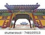 yang yang  south korea may 2017 ...   Shutterstock . vector #748105513