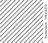 infinite thin black lines on... | Shutterstock .eps vector #748118173