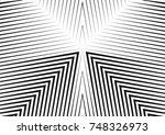 abstract creative geometric... | Shutterstock .eps vector #748326973