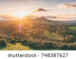 scott's view looking to the... | Shutterstock . vector #748387627