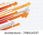 abstract colored background... | Shutterstock .eps vector #748414237