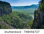 ouimet canyon | Shutterstock . vector #748446727