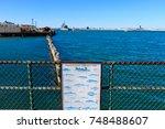 boston harbor saltwater fish... | Shutterstock . vector #748488607