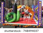 mexico city   november 01  2016 ... | Shutterstock . vector #748494037