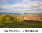 view from the top of rana hill... | Shutterstock . vector #748588183