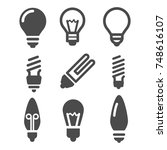 light vector icons. simple...