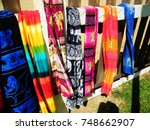 colorful beach wear in sri... | Shutterstock . vector #748662907