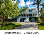 naples  florida   november 1 ...   Shutterstock . vector #748669897