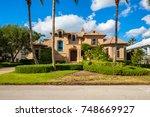naples  florida   november 1 ...   Shutterstock . vector #748669927
