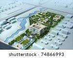 3d building   Shutterstock . vector #74866993