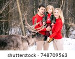 parenthood  fashion  season and ... | Shutterstock . vector #748709563