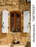 Nice Window In Domme  Perigord...