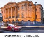 london  november  2017  tesla s ... | Shutterstock . vector #748822207