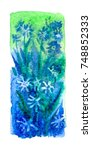 watercolor blotch | Shutterstock . vector #748852333