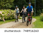 healthy lifestyle   people... | Shutterstock . vector #748916263