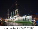aurora cruiser in saint...   Shutterstock . vector #748927783
