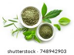 various spices isolated on... | Shutterstock . vector #748942903