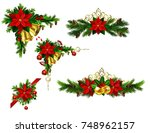 christmas elements for your... | Shutterstock .eps vector #748962157