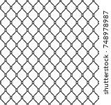 Fishnet Seamless Pattern Vecto...