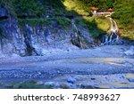 scenery of changchun temple... | Shutterstock . vector #748993627