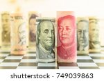 world economy and forex  ...   Shutterstock . vector #749039863