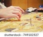 bangkok thailand   october21... | Shutterstock . vector #749102527