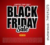 vector illustration of black... | Shutterstock .eps vector #749191273