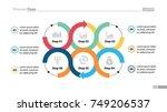 six steps process chart design   Shutterstock .eps vector #749206537