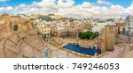 panoramic view at the cartagena ... | Shutterstock . vector #749246053
