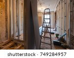 interior of upgrade apartment... | Shutterstock . vector #749284957