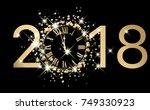 Black 2018 New Year Shining...