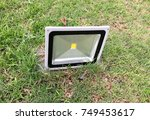 led spotlights are suitable for ... | Shutterstock . vector #749453617