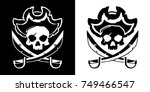 jolly roger vector illustration | Shutterstock .eps vector #749466547