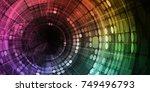 management technology of media... | Shutterstock . vector #749496793