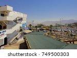 eilat  israel   september 11... | Shutterstock . vector #749500303