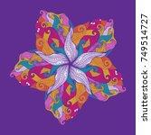 mandala  vector mandala  flower ...   Shutterstock .eps vector #749514727