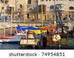 old city yaffo  israel . a view ...   Shutterstock . vector #74954851