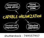 capable organization  strategy... | Shutterstock . vector #749557957