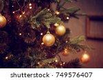 defocus beautiful dark... | Shutterstock . vector #749576407