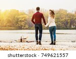 happy to be together.... | Shutterstock . vector #749621557