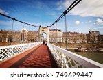 lyon  france   january 2015 ...   Shutterstock . vector #749629447